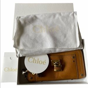 Beautiful Gift Chloe Zipper Wallet with Lock